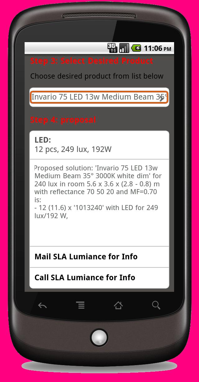 Fast Online Lighting Design - lightingCalc